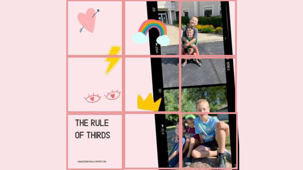 Rules of Thirds in Graphic Design